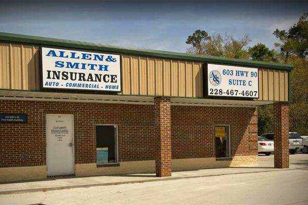 The Allen & Smith office in Waveland, MS